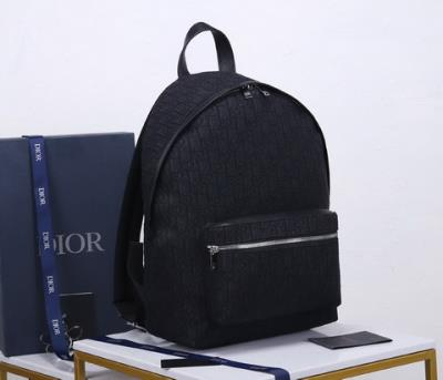 cheap quality Christian Dior backpack Oblique 93328 all black